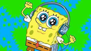 spongebob headphones music